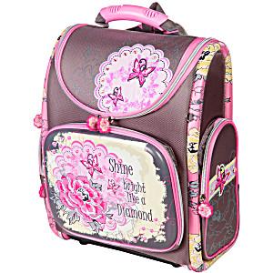Школьный рюкзак – ранец HummingBird Diamond K68 с мешком для обуви