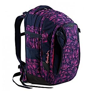 Рюкзак Satch Match для девочки цвет Pink Bermuda SAT-MAT-001-9K8